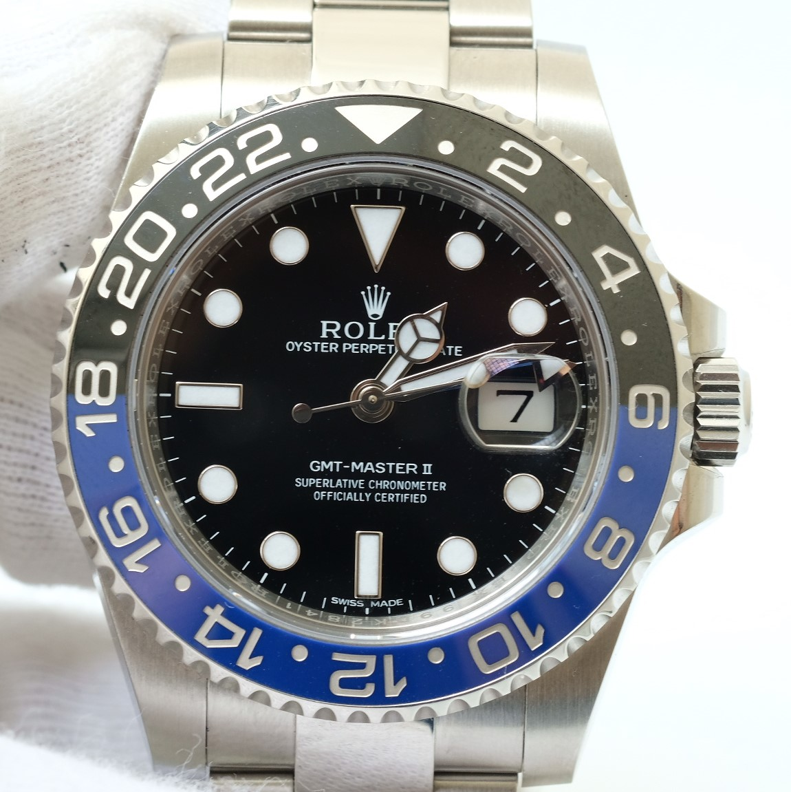 Rolex GMT-Master II Batman 116710