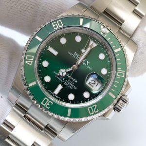 Rolex Submariner 116610LV Green Dial Thép 904L Size 40mm