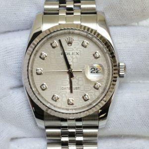 Đồng hồ Rolex DateJust 116234 mặt vi tính trắng size 36mm