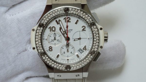 Hublot Big Bang Chronograph White Dial Stainless Steel Size 42mm