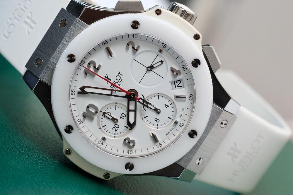Hublot Big Bang Chronograph White Dial Stainless Steel
