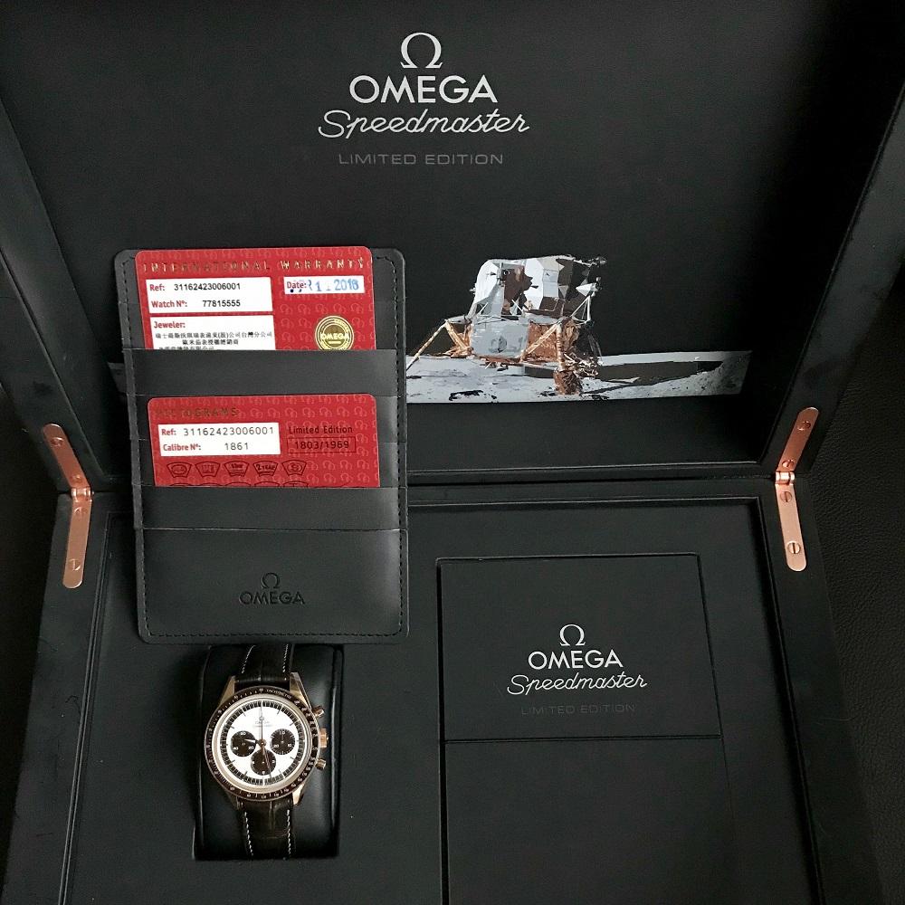 Omega Speedmaster Moonwatch Chronograph 39.7mm
