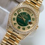 rolex-day-date-118338-diamon-green-dial-yellow-gold-size-36