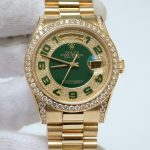 rolex-day-date-118338-diamon-green-dial-yellow-gold-size-36-5