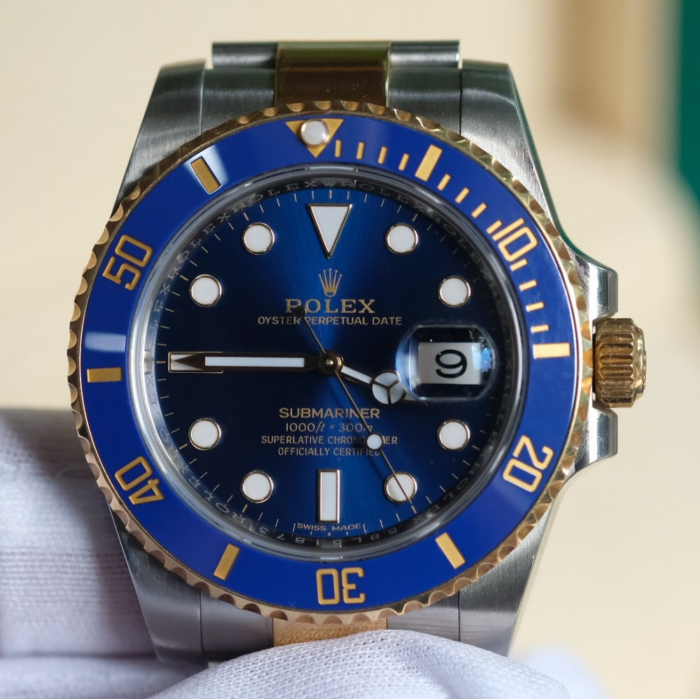Rolex Submariner 116613LB Blue Dial Yellow Gold & Oystersteel