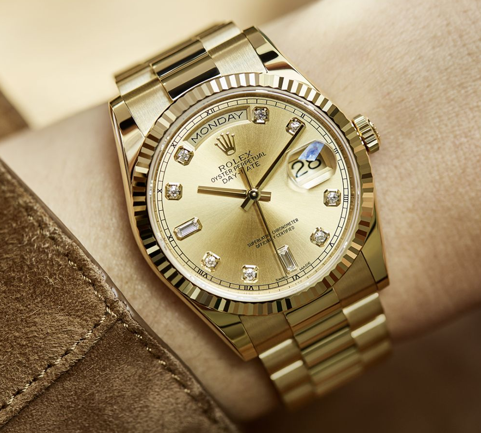 Rolex Day-Date Yellow Gold