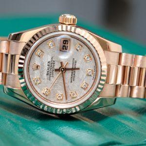 Đồng hồ nữ Rolex 179175F mặt thiên thạch size 26mm
