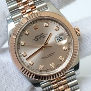 Đồng hồ Rolex Datejust 126331 mặt tia hồng size 41mm