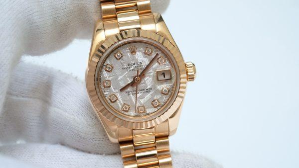 Đồng hồ Rolex Datejust 179175 mặt thiên thạch size 26mm