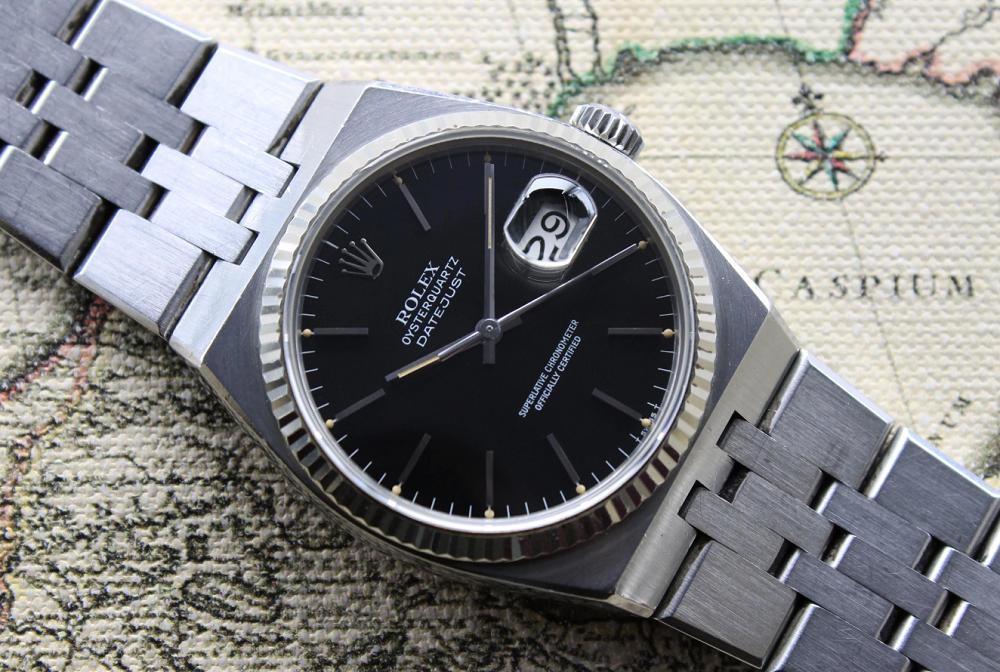 Rolex Oysterquartz Datejust Ref 17014