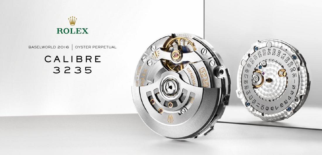 Tìm hiểu bộ máy thế hệ mới Rolex Calibre 3235